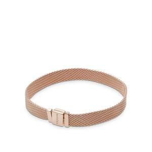 Bilde av Pandora reflexsions rose mesh bracelet