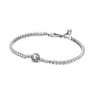 Bilde av Pandora sparkling halo tennis bracelet